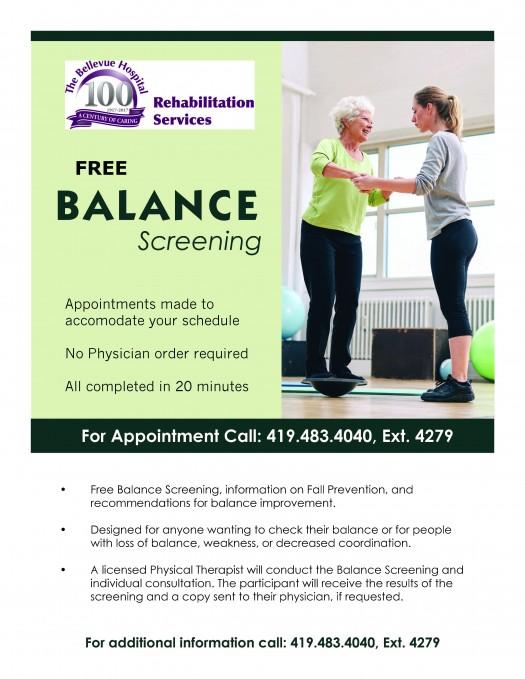 TBH Offers Free Balance Screenings